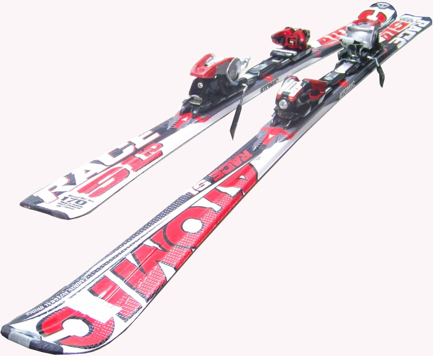 Slalom carver atomic race sl ski set cm alpin