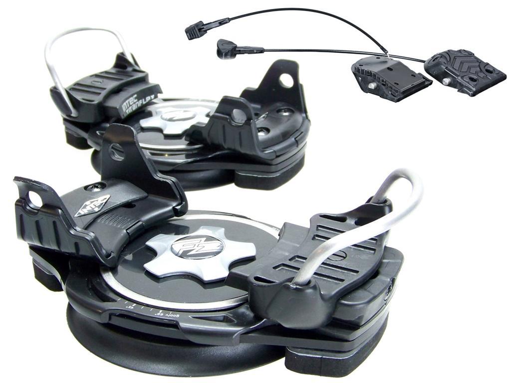 F2-INTEC-TITANFLEX-Snowboardbindung-Step-In-Hardboot-Snowboard-Schuh-Boot-Black
