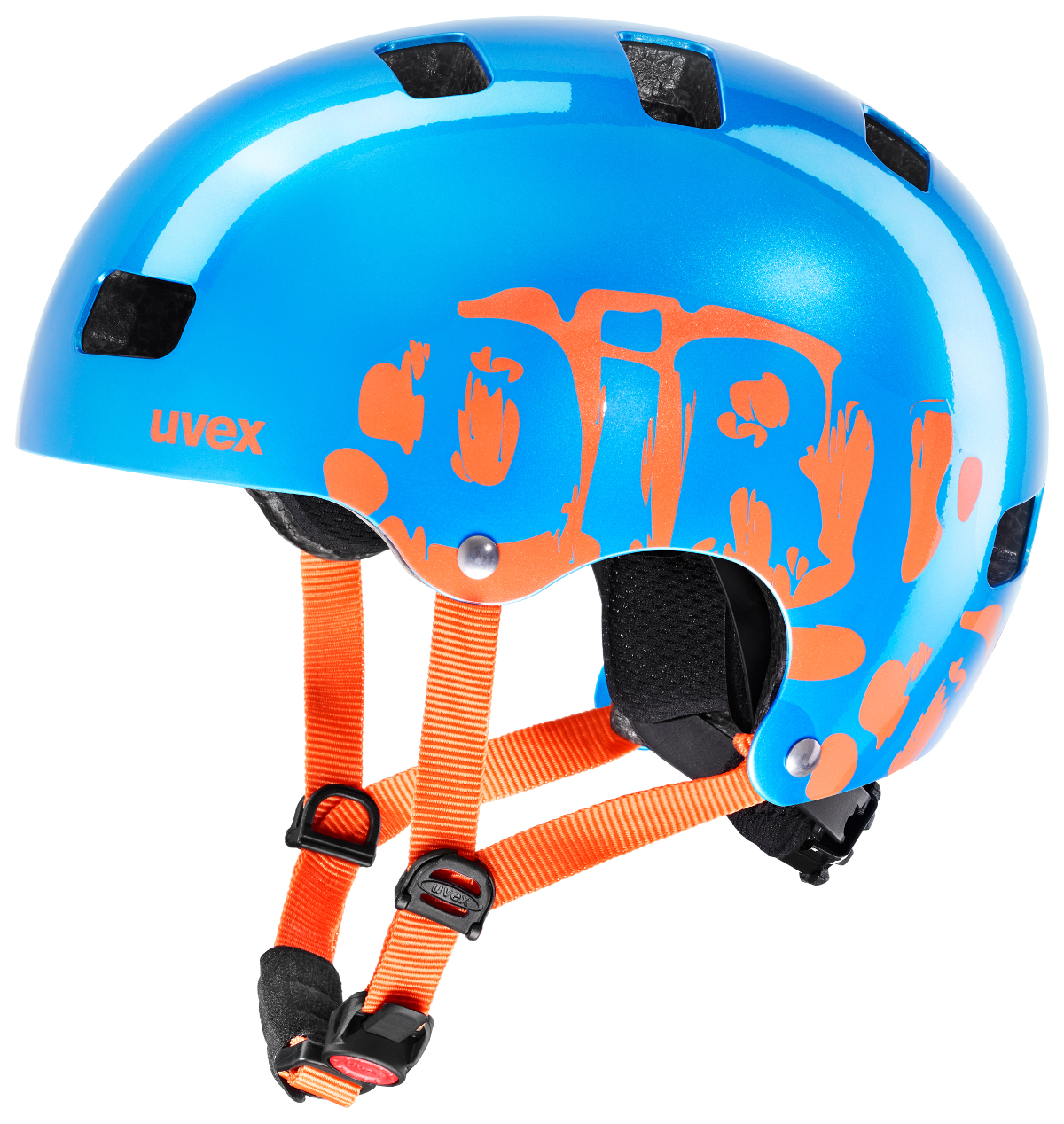 Uvex Kid 3 Blue Orange Fahrradhelm Radhelm Kinder Helm Scooter Inliner Skate J29 Ebay