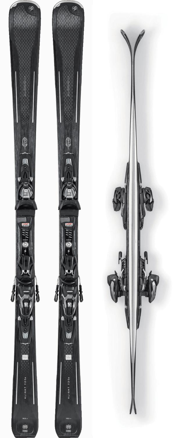 Bindung Marker TLT 10 SN J18 Ski-Sets Blizzard Alight 7.2 Ca Ski Set Damenski inkl