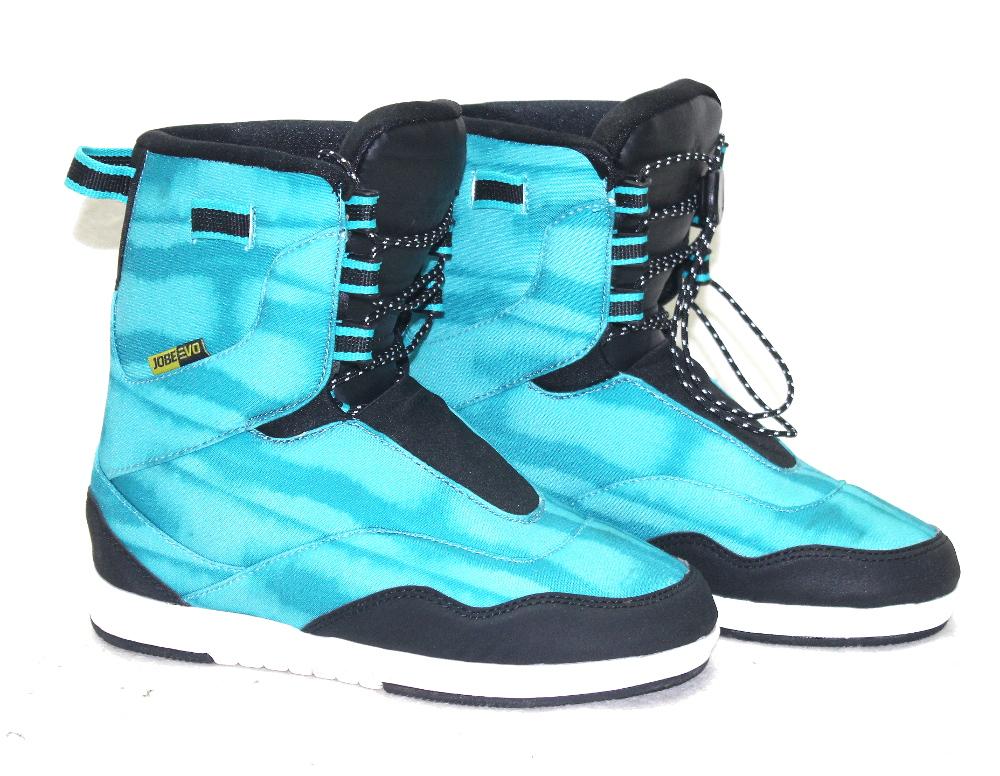 Jobe EVO Bindung teal blue Wakeboardbindung NEU Schuhe Bindung Wakeboard SN 2