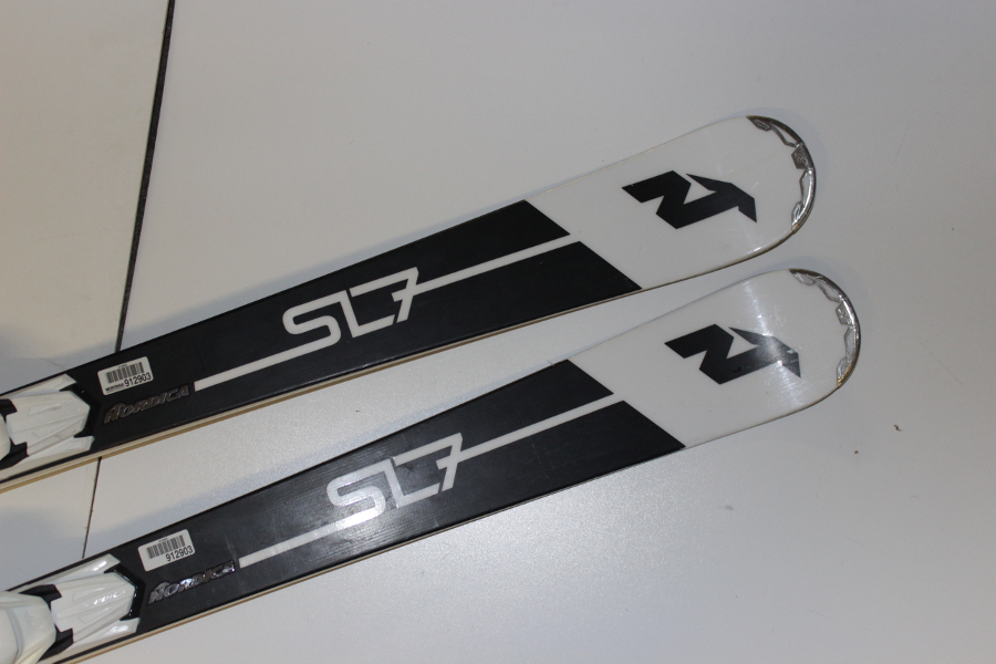 Alpin Ski-Sets Ski Nordica Sentra SL 7 Ti EVO Testski 165 cm  Bindung Damen Ski Carver X19